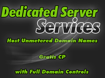 Low-cost dedicated hosting server packages
